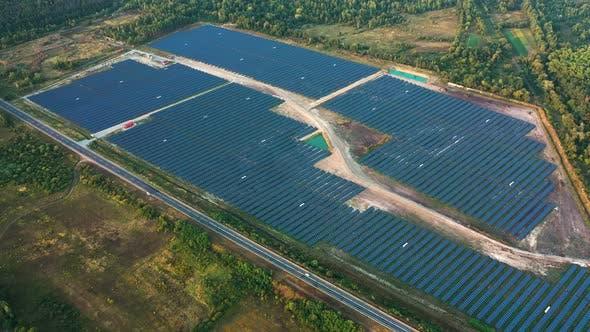 Thumbnail for Solar Panels Field