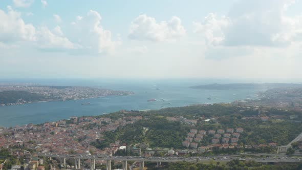 Thumbnail for Bosphorus Aerial View