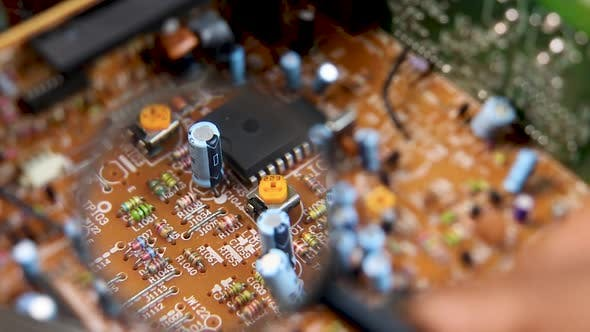 Thumbnail for Circuit Board Inspection 1426