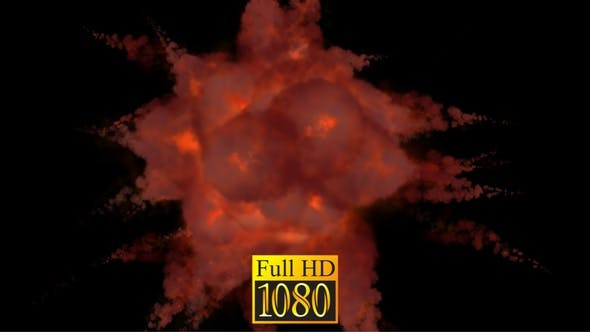 Red Explosion HD