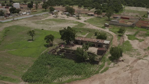 Thumbnail for Africa Mali Village Aerial View 38