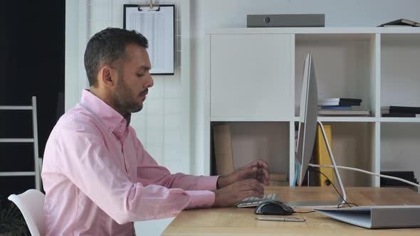 Thumbnail for Handsome Entrepreneur Using Internet for Job