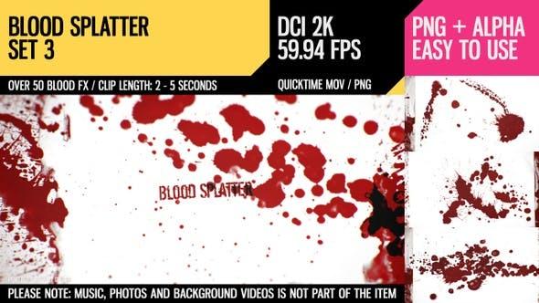 Thumbnail for Blood Splatter (HD Set 3)