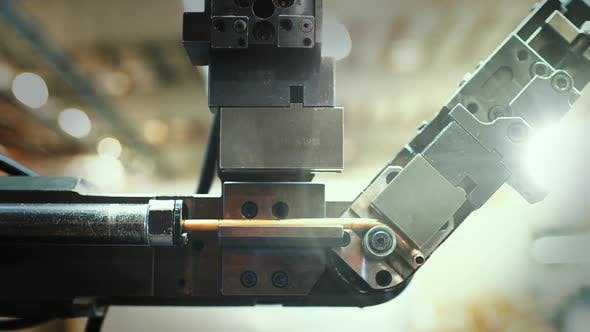 Thumbnail for Robotic Arm in the Refrigerator Assembly Plant.