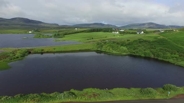 Thumbnail for Aerial view of Isle of Skye