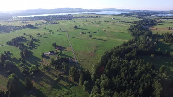 Thumbnail for Aerial view of a village