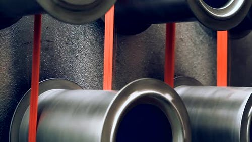 Factory Machine with Polypropylene Bristles.