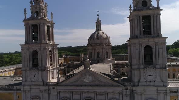Thumbnail for Facade of Mafra Monastery