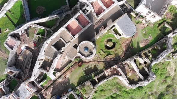 Thumbnail for Aerial Drone View on Spis Castle. Slovakia. Ancient Castle, Spissky Hrad.