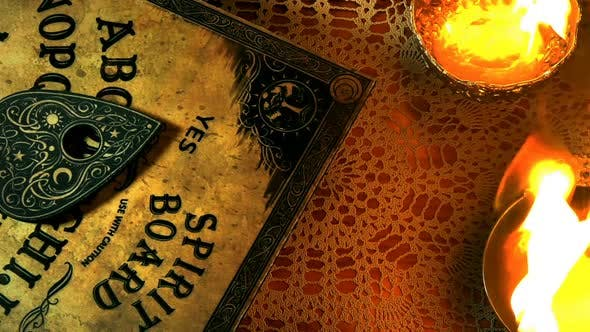 Witch Craft Ouija Board Spirit Game