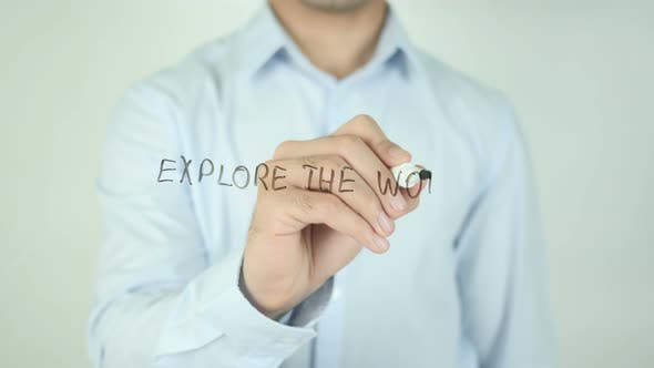 Cover Image for Explore the World, Writing On Screen