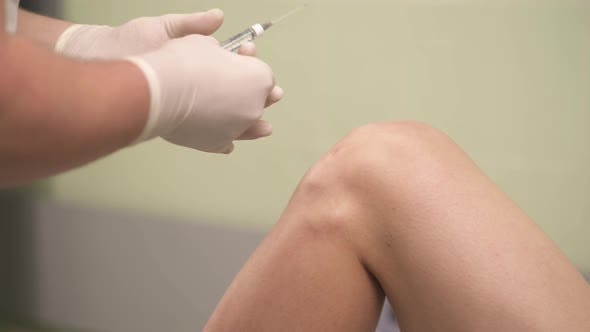 Thumbnail for Knee Injection of Hyaluronic Acid