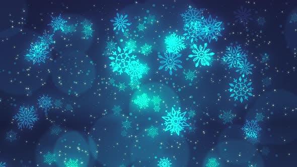 Thumbnail for Christmas Background 4K