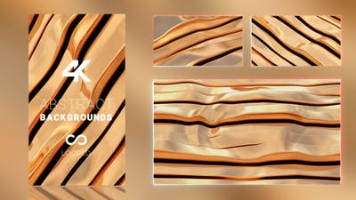 Gold Material Wave