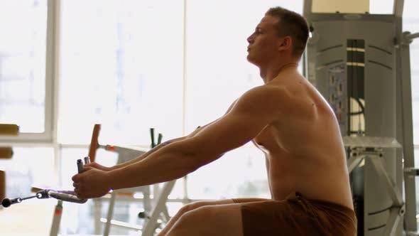 Kraftübungen für die Muskeln.