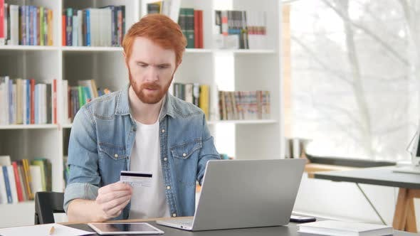 Thumbnail for Online Shopping Failure for Casual Redhead Man