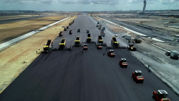 Thumbnail for Airport Runway Construction