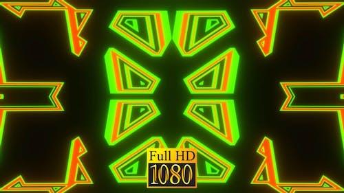 Vj Loop Kaleidoscope Ripple HD