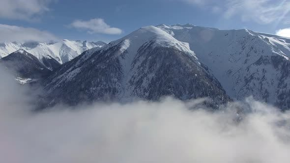 Thumbnail for Cloud Covered Valley at Winter