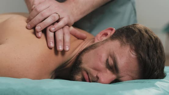 Thumbnail for The Manual Therapist Makes Massage To a Young Man
