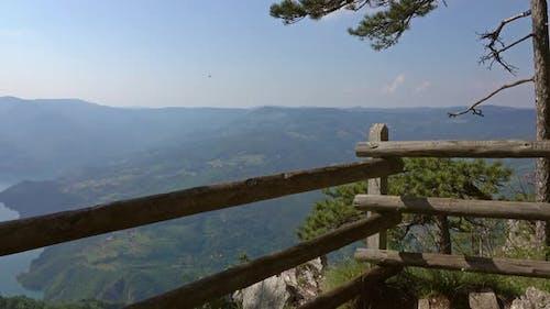 Viewpoint Banjska Stena at Tara Mountain, Serbia
