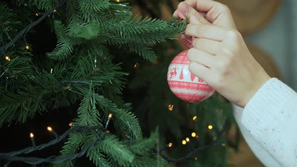 Cover Image for Hand Decorating Christmas Tree