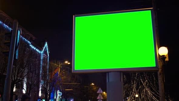 Thumbnail for Plakatwand im Stadtzentrum