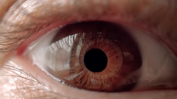 Thumbnail for Woman Single Eye Close Up