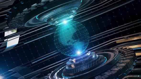High Tech Globe