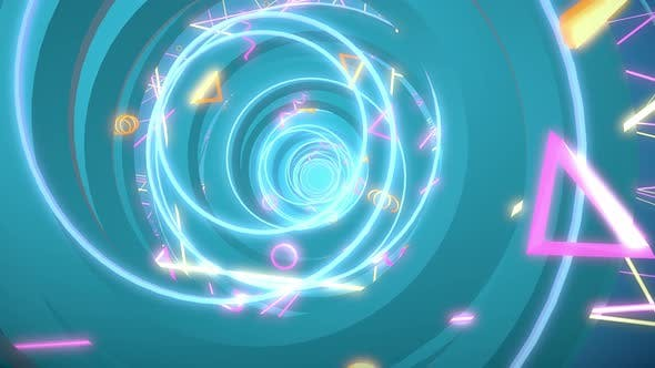 Thumbnail for Circle Helix 03 4 K