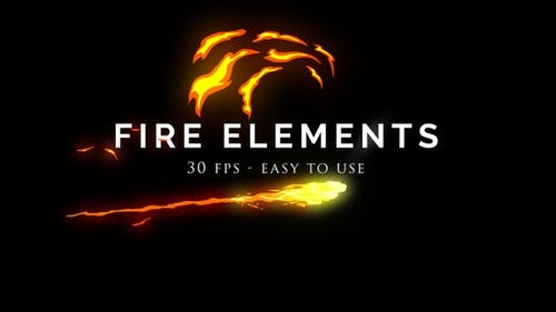 Cinematic Fire Elements Pack