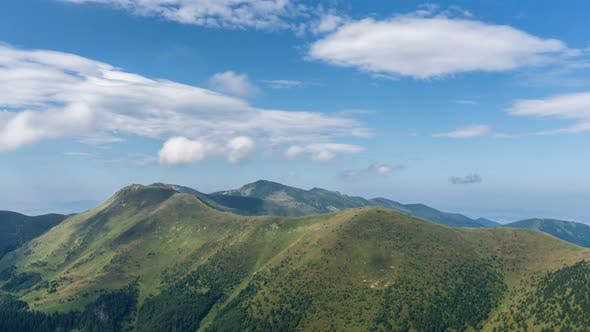 Thumbnail for Clouds over Green Mountains