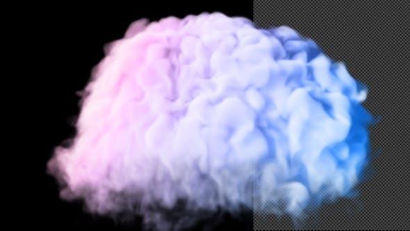 Slow Motion Smoke Explosion