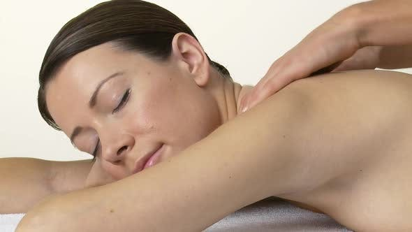 Thumbnail for Young woman having a massage