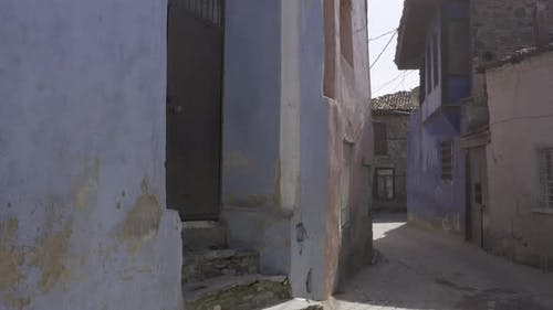 Old Houses And Alley