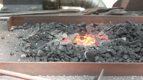 Thumbnail for Blacksmith's Furnace For Heating Metal
