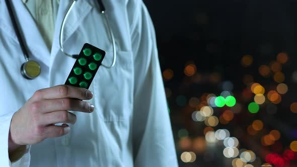 Thumbnail for Doctor Shows Green Pills