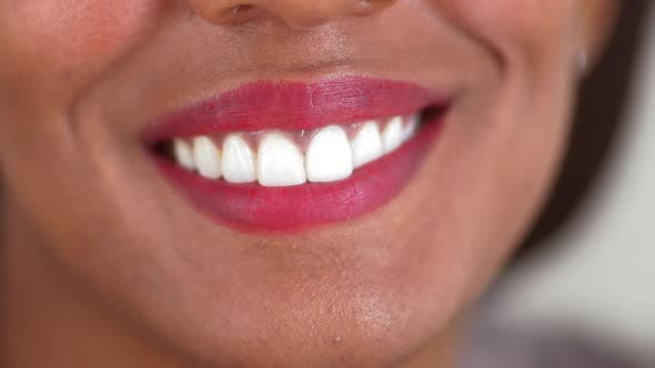 Thumbnail for African American woman smiling