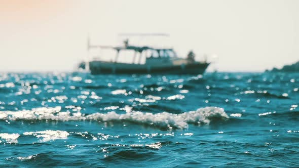 Thumbnail for Sea with Background Boat