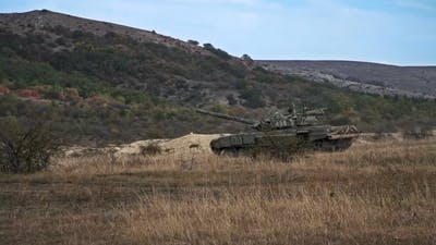Tanks in the Mountains of Syria