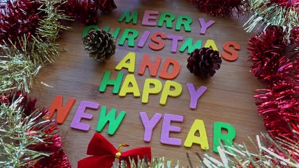 Thumbnail for Merry Christmas And Happy New Year Decoration