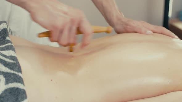 Thumbnail for Woman Recieve Reflexology Massage