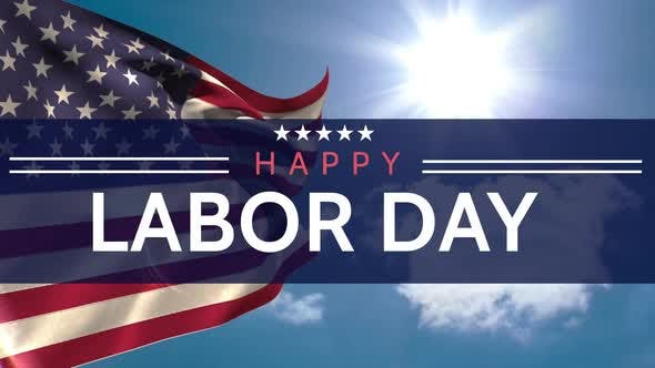 Thumbnail for Digital generated video of labor day
