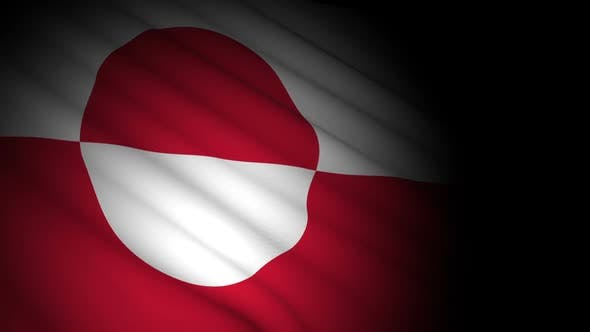 Thumbnail for Greenland Flag Blowing in Wind