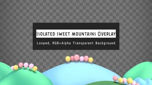 Isolated Sweet Mountains Overlay