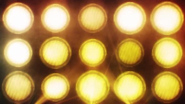 Thumbnail for 15 Big Lights Flashing Wall