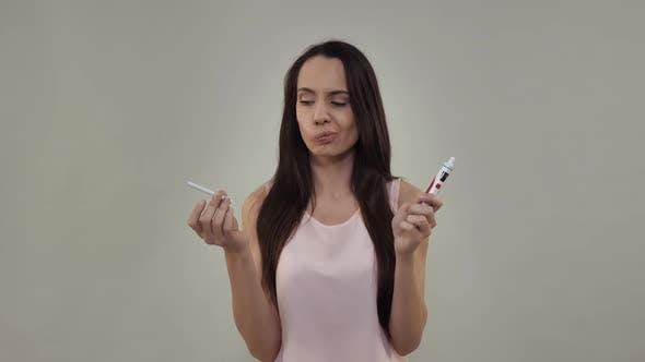 Nicotine Addiction Concept
