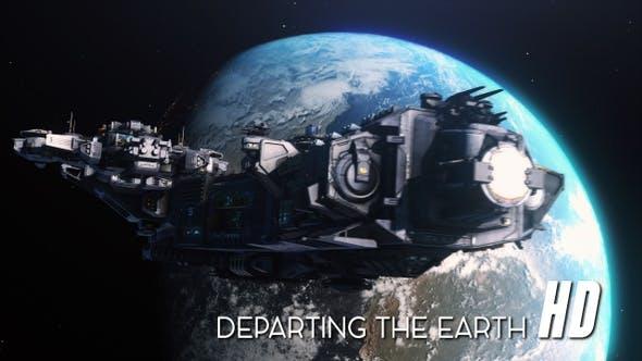 Thumbnail for Raumschiff Abreise Erde HD