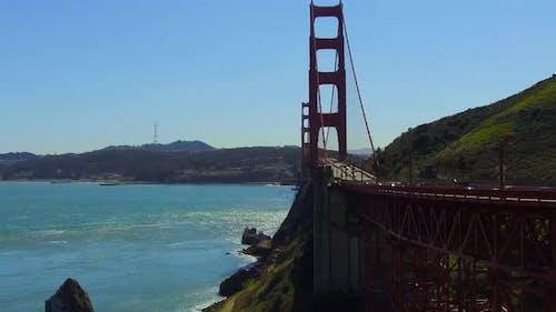 Golden Gate Bridge Over San Francisco Bay 24