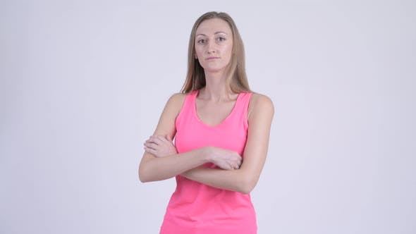 Thumbnail for Portrait of Blonde Woman with Arms Crossed